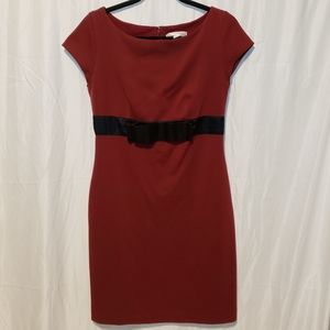 Isaac Mizrahi for Target midi formal dress w bow
